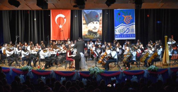Narlıdere'nin çocuklarından' muhteşem konser!