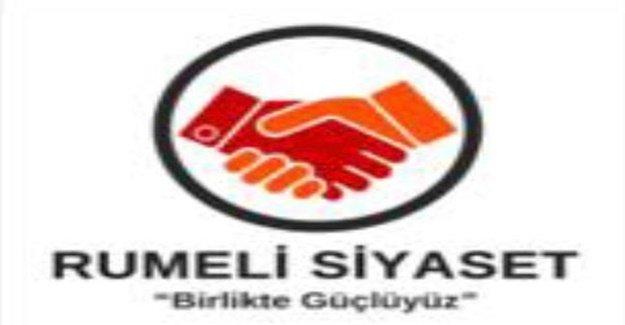 Rumeli Siyaset Grubu 'Yeni Anayasa' hakkında yazılı açıklama yaptı