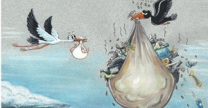 5 kıtadan 100 karikatür