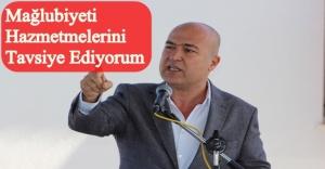 'AKP'Yİ SAKİNLİĞE VE TERBİYEYE DAVET EDİYORUM'