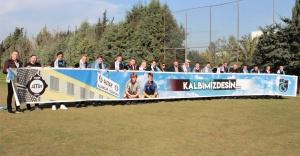 Altay ve Trabzonsporlu eski futbolcular, Türkiye Kupası maçı öncesinde buluştu