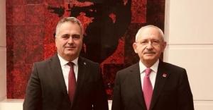 Aydın Özca'dan Kılıçdaroğlu'na ziyaret