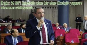 Ayvalık Belediye Başkanı Ergin'den 'Karakoç Barajı'na itiraz geldi