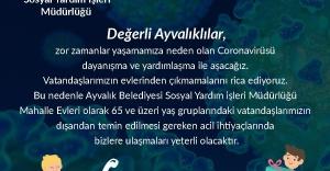 Ayvalık Belediye Başkanı Mesut Ergin'den Coronavirus için RADİKAL TEDBİRLER