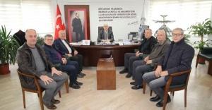 Biga Bosna Hersek Derneği'nden Burhaniye Balkan Göçmenleri Derneği'ne ziyaret