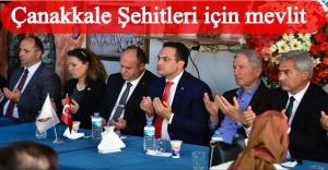 ÇANAKKALE ŞEHİTLERİ ÇAMDİBİ'NDE ANILDI