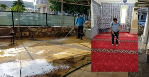 Çeşme'de Cami Temizliği Seferberliği