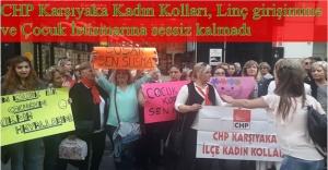 CHP Karşıyaka Kadın Kollarından Anlamlı Eylem!...