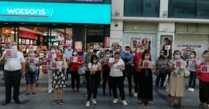 CHP Karşıyaka'dan kadın eylemi