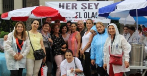 CHP KONAK'TAN EKREM İMAMOĞLU'NA KERMES DESTEĞİ