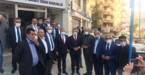 CHP'li Beko ve Kaya, Hakkari'de incelemelerde bulundu