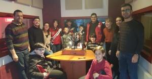 """""""Çocuklar Radyo Ege Kampüs'de Mikrofonla Buluşuyor"""""""
