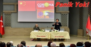 Corona Virüsü Bornova'da anlatıldı