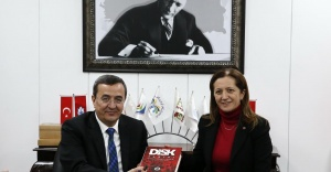 DİSK'ten Başkan Batur'a ziyaret