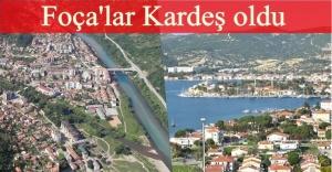 Foça, Bosna Hersek Foça ile kardeş kent oldu…