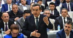 """İzmir Büyükşehir Belediye Meclisinde """"gökdelen"""" tartışması"""