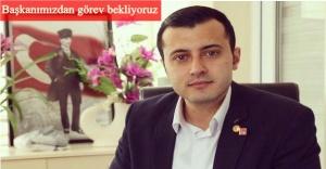 İzmir küllerinden doğarken, Buca Gençlik Kolları eski Başkanı Can İrat göreve hazırız dedi