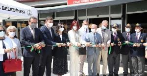 """Karşıyaka'da """"Cihat Kora Kütüphanesi"""" açıldı"""