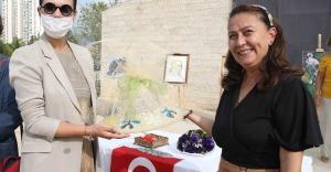Karşıyakalı 40 kadından mozaik sergisi