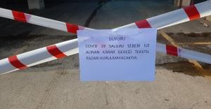 Karşıyaka'nın pazarlarında koronavirüs önlemleri!