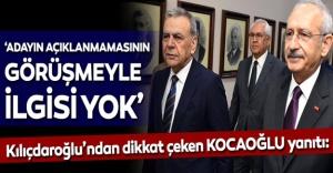 Kılıçdaroğlu'ndan flaş 'Kocaoğlu' açıklaması!