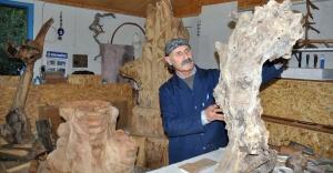 Mustafa usta oduna hayat veriyor