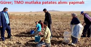 """Patates üreticisi isyanları oynuyor: """"Artık AK Parti'yi sevmiyoruz"""""""
