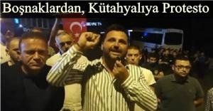 Rasim Ozan Kütahyalı'ya Beyaz TV önünde protesto