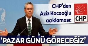 """CHP'li Salıcı'dan Aziz Kocaoğlu açıklaması! """"PAZAR GÜNÜ GÖRECEĞİZ"""""""