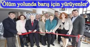 Srebrenitsa Soykırımını konu alan sergi Urla'da açıldı