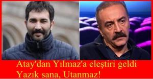 TİP Milletvekili Barış Atay'dan Yılmaz Erdoğan'a Tepki: Yazık Sana, Utanmaz!