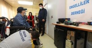 """Türkiye'nin ilk """"Engelli Veri Tabanı"""" Buca'da oluşturuluyor"""