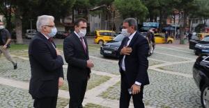 VALİ ŞILDAK, BAŞKAN DEVECİLER'İ ZİYARET ETTİ