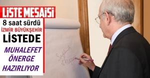 Ve Kılıçdaroğlu aday belirleme mesaisine başladı