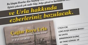 """Yazar Tufan Atakişi'nin, 16. Belgesel Kitabı, """"ÇAĞLAR BOYUNCA URLA"""" çıktı"""