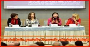 10 Ocak Çalışan Gazeteciler Günü'nde, vatandaşların haber alma hakkı Bornova'da gündeme geldi