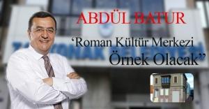 """Abdül Batur """"En Roman Dostu"""" ödülünü bugün alacak"""