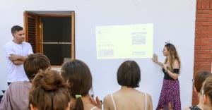 AISEC gençleri kent turizmi için Buca'da