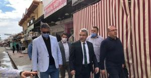 ALTINOLUK'A MEYDAN VE BİSİKLET YOLU PROJESİ BAŞLADI