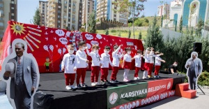 Atatürk'ün çocuklarını bayram coşkusu sardı