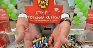 Atık pil kampanyasında dereceye girenler belli oldu
