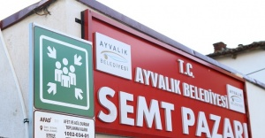 AYVALIK'TA AFET VE ACİL TOPLANMA ALANLARI BELİRLENDİ