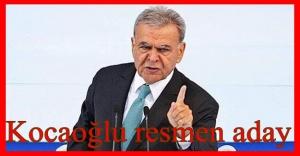 Aziz Kocaoğlu aday adaylık dosyasını verdi