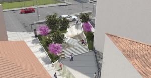 Azizler Sokağı'na modern dokunuş