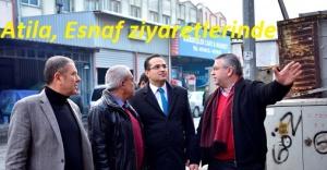 Başkan Atila, Hurdacılar sitesi esnafı ile buluştu