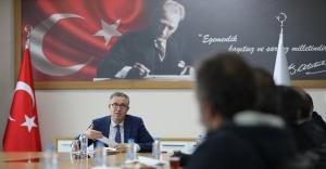 """Başkan Halil Arda: """"Hazine miktar fazlalıkları şerhleri tapu kayıtlarından kaldırılmalıdır!"""""""