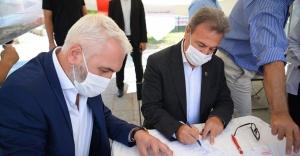 """Başkan İduğ: """"Kalbimi Bornova'ya bağışlıyorum"""""""