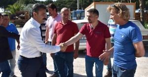 Başkan Kırgöz'den Sabah Mesaisi