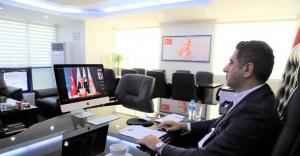 Başkan Mustafa Kayalar AB Proje Toplantısına Katıldı