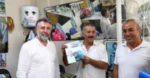 BAŞKAN SANDAL, ONUR MAHALLESİ'NDE ESNAFI ZİYARET ETTİ